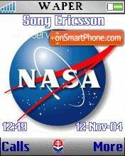 NASA theme screenshot