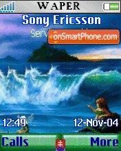 Sea Girls theme screenshot