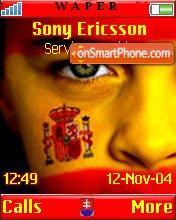 Spanish Face theme screenshot