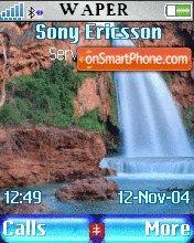 Waterfalls 3 theme screenshot