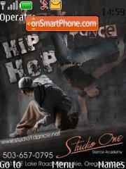 Hip Hop Dance tema screenshot