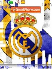 Real Madrid 2013 theme screenshot