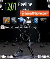 Skelet theme screenshot