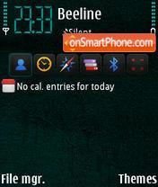 Iphone BT scratched yI theme screenshot