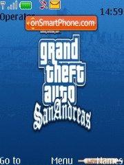 San Andreas theme screenshot