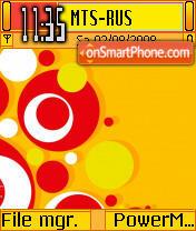Candy theme screenshot