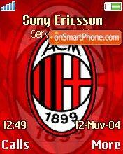 Milan theme screenshot