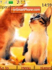 Yellow Cats tema screenshot