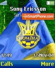 Ukraine theme screenshot