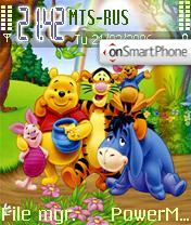 The Pooh theme screenshot