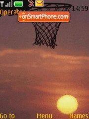 NBA theme screenshot