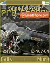 Need For Speed 04 es el tema de pantalla