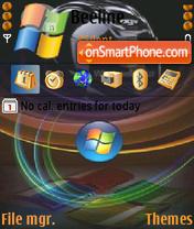 Animated Vista 01 es el tema de pantalla