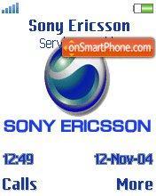 Sony Ericsson Blue es el tema de pantalla