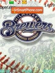 Milwaukee Brewers theme screenshot