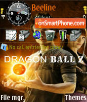 Dragon Ball 03 theme screenshot