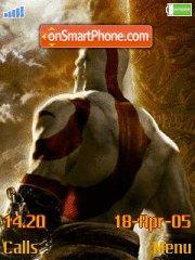 God Of War 04 es el tema de pantalla