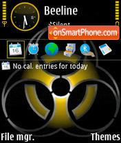 Biohazard 02 theme screenshot