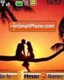 Sunset love es el tema de pantalla