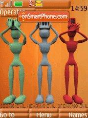 Three Man theme screenshot
