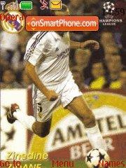 Zidane es el tema de pantalla
