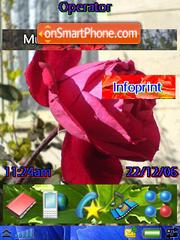 Flowers 10 theme screenshot