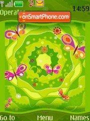 Green Summer theme screenshot