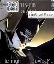 Batman PRO theme screenshot