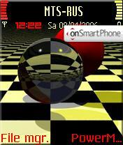 Balls theme screenshot