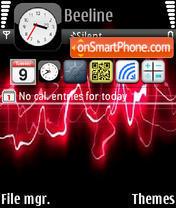 Chameleon iPhone es el tema de pantalla