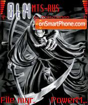 The Reaper theme screenshot