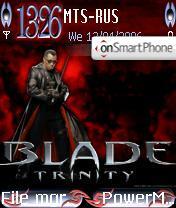 Blade 3 Trinity With New Clock es el tema de pantalla
