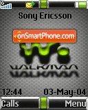 Walkman Silver 01 es el tema de pantalla