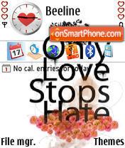 Love N Hate es el tema de pantalla
