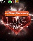 Love me es el tema de pantalla