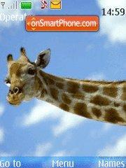 Giraffe tema screenshot