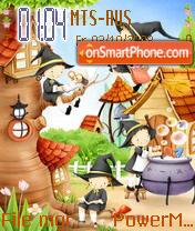 Cartoons 01 theme screenshot