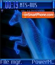 Blue Horse es el tema de pantalla