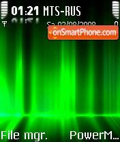IAurora Green S60v2 es el tema de pantalla