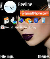 Glamour 03 theme screenshot