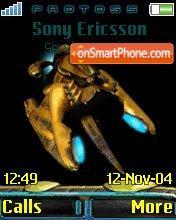 Protoss es el tema de pantalla