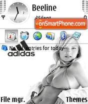 Adidas 31 es el tema de pantalla