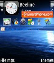 Sea theme screenshot