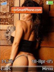 Hot Babe Denise theme screenshot