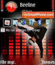 Dance1 es el tema de pantalla