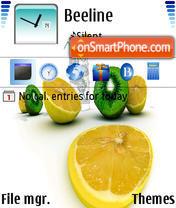 Fruits 03 theme screenshot