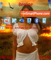 Firegirl theme screenshot