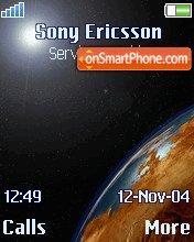 Earth es el tema de pantalla
