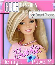 Barbie theme screenshot