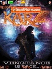 Karz theme screenshot